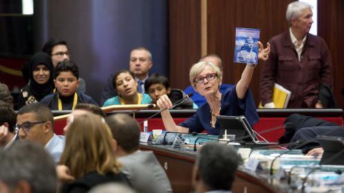 VIDEO. Bourgogne-Franche-Comté : une femme voilée prise à partie par des élus du RN lors d'une séance du Conseil régional