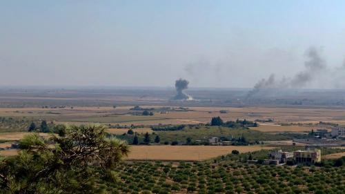 Offensive turque en Syrie : à la frontière, la ville de Ras al-Aïn désertée et en proie aux combats