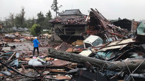 Japon : le passage du typhon Hagibis fait au moins 14 morts