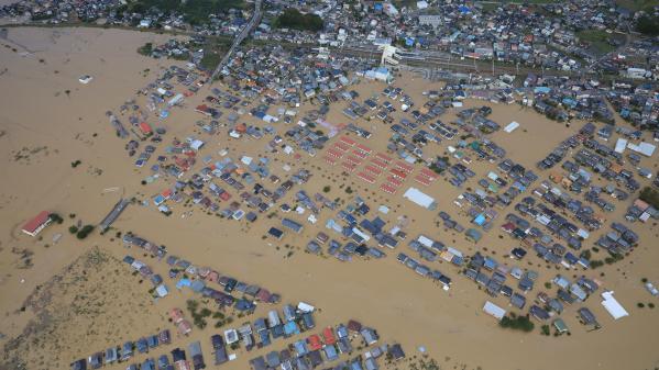 Hagibis : le Japon n'avait pas connu un typhon si fort depuis 60 ans