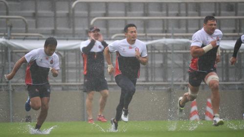 Coupe du monde de rugby: le match décisif Japon-Ecosse se joue, malgré le typhon Hagibis