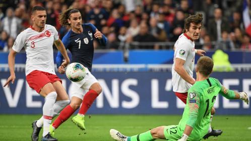 DIRECT. Foot : la France domine mais la Turquie tient bon