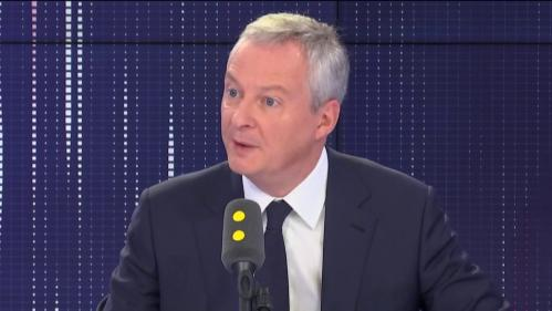 """VIDEO. """"Le voile n'est pas souhaitable, pas ce que l'on peut souhaiter pour la société française"""", selon Bruno Le Maire"""
