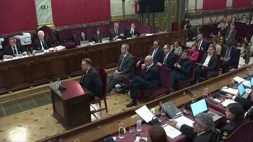 Espagne : neuf responsables indépendantistes catalans condamnés à des peines de 9 à 13 ans de prison