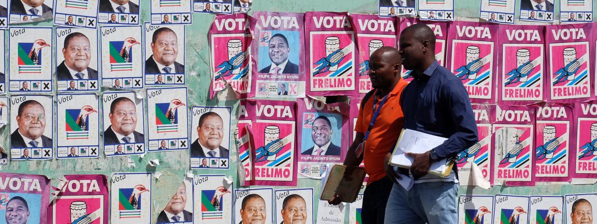 Elections générales au Mozambique : la dette, le gaz et les jihadistes