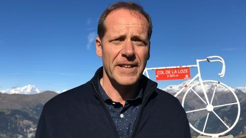"""VIDEO. """"Un col comme ça, ça n'existait pas"""" : Christian Prudhomme dévoile une arrivée inédite pour le Tour de France 2020"""