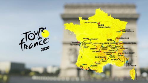 Dix étapes de montagne, la moitié nord de la France oubliée et un hommage à Jacques Chirac : découvrez le parcours du Tour de France 2020