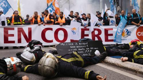 """Effectifs en baisse, agressions… Pourquoi les pompiers en ont-ils """"ras le bol"""" ?"""