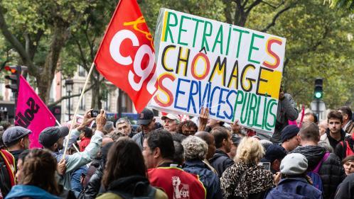 """Retraites: plusieurs syndicats, dont la CGT et FO, appellent à une """"première journée de grève interprofessionnelle"""" le jeudi 5décembre"""