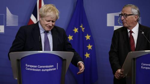 """DIRECT. Brexit: Johnson appelle les députés britanniques à """"se rallier"""" au nouvel accord, l'opposition rejette le texte"""