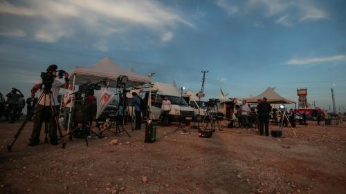 """""""Les combats se déroulent loin de nous"""" : les journalistes contraints de rejoindre l'Irak après l'intervention du régime syrien témoignent"""
