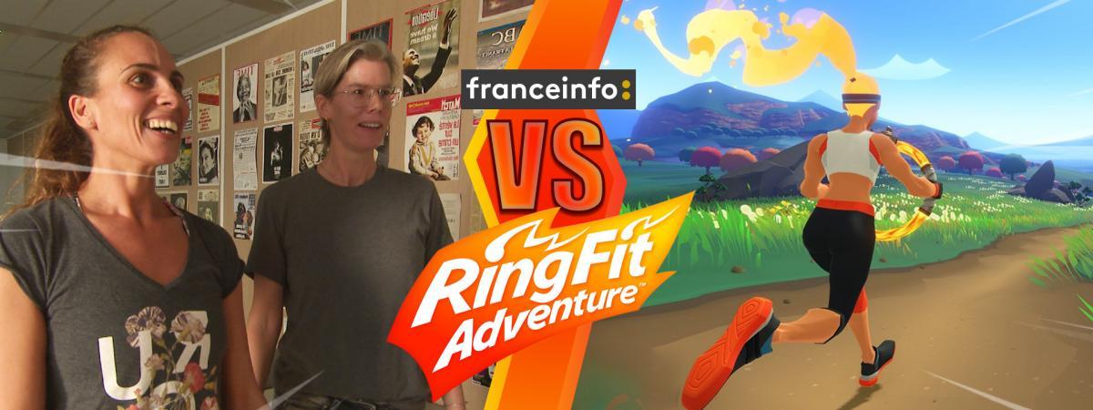 """VIDEO. """"Ring Fit Adventure"""" : le nouveau jeu vidéo de Nintendo permet-il vraiment de faire du sport avec sa..."""