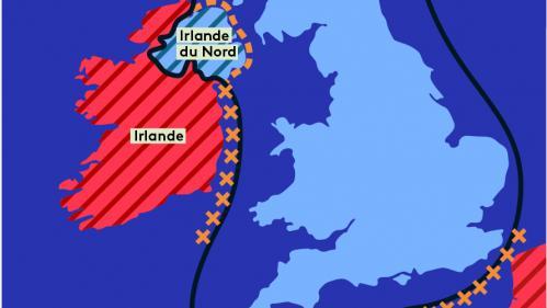 CARTE. Brexit : ce que prévoit l'accord trouvé entre le Royaume-Uni et l'UE pour l'Irlande du Nord