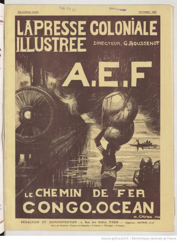 """Journal \""""La presse coloniale illustrée\"""", octobre 1925."""