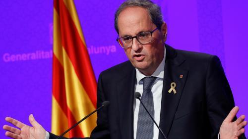 Espagne : le président de la Catalogne propose un nouveau vote sur l'indépendance