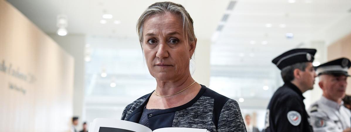 Irène Frachon, au procès du Mediator au tribunal de Paris, le 23 septembre 2019.