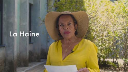 "VIDEO. Christiane Taubira lit ""La Haine"" de la poétesse polonaise Wislawa Szymborska"