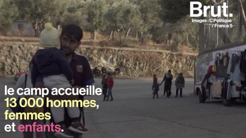 """VIDEO. Lesbos : """"En Syrie, c'est la guerre, mais j'avais moins peur qu'ici"""", alerte un réfugié"""