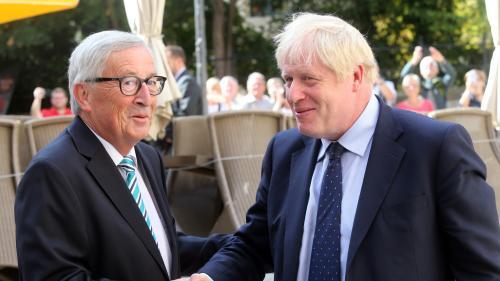 Brexit: un accord a été conclu entre Londres et l'Union européenne, annoncent Boris Johnson et Jean-Claude Juncker