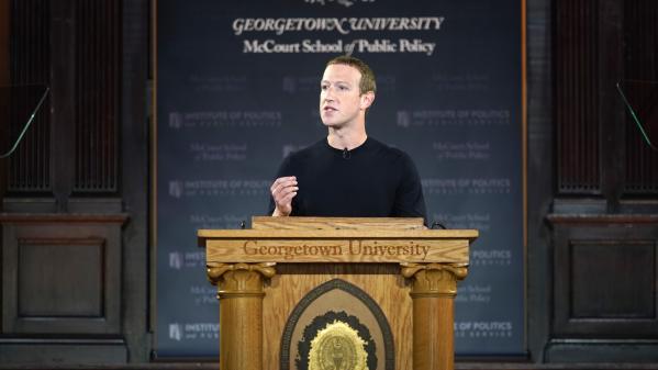 """""""Facebook a été créé pour donner la parole au peuple"""" : Mark Zuckerberg en appelle à la liberté d'expression"""