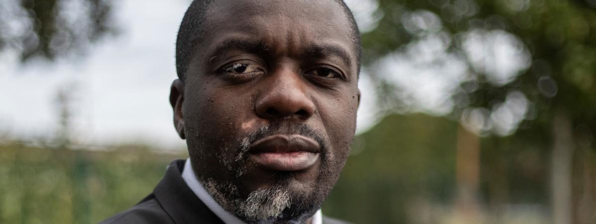 Jean-Jacques Lumumba, lanceur d'alerte congolais réfugié en France.
