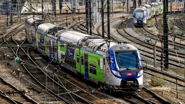 Un TER photographié le 26 février 2018, à Lille.