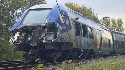 Ardennes : collision entre un camion et un TER à un passage à niveau