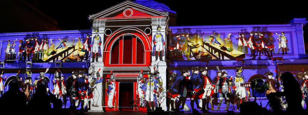 Ajaccio fête Napoléon en son et lumière pour ses 250 ans
