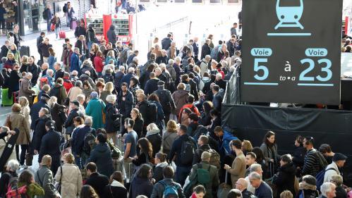 Droit de retrait à la SNCF : la compagnie ne pourra donner l'état du trafic que samedi matin
