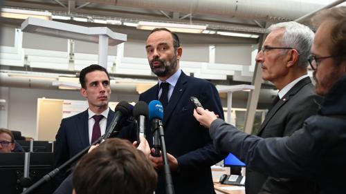 """VIDEO. SNCF : Edouard Philippe dénonce une """"grève sauvage"""" qui ne respecte pas la loi"""