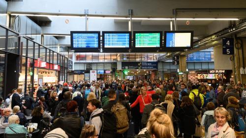 """""""Droit de retrait"""" ou """"grève sauvage""""? On vous décrypte le bras de fer qui s'est engagé entre la SNCF et les cheminots"""