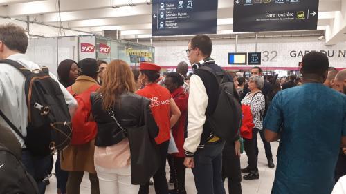 """""""Droit de retrait"""" à la SNCF : les salariés mis en demeure de reprendre le travail"""