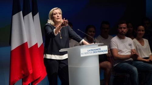 """Rassemblement national : Marine Le Pen annonce son """"envie"""" d'être candidate à l'élection présidentielle de 2022"""
