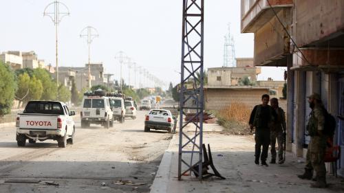 Offensive turque en Syrie : les combattants kurdes se sont retirés de la ville de Ras al-Aïn près de la frontière