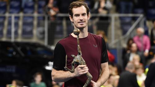 Tennis : à Anvers, Andy Murray remporte son premier tournoi depuis mars 2017