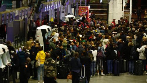 La circulation des RER perturbée dimanche par le mouvement social de la SNCF
