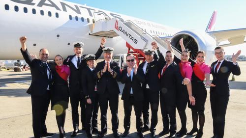 New York - Sydney : le plus long vol direct de l'histoire a atterri après plus de 19 heures de vol