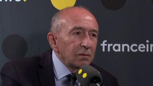 """VIDEO. Municipales à Lyon : Emmanuel Macron """"m'a dit oui, je veux que tu sois candidat"""", affirme Gérard Collomb"""