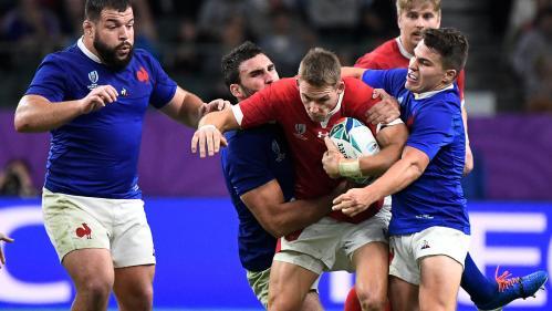 Coupe du monde de rugby: réduits à quatorze, les Bleus craquent sur le fil et s'inclinent contre les Gallois (20-19) en quart de finale
