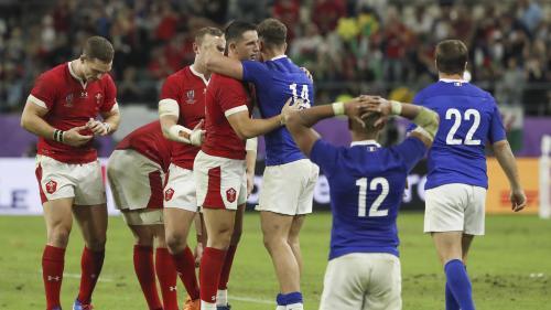 """""""Ils ne méritaient pas de perdre ce match"""", estime GuyAccoceberry après la défaite des Bleus en quart de finale de la Coupe du monde de rugby"""