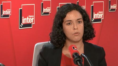 """VIDÉO. Droit de retrait à la SNCF: """"Je ne voudrais pas que la SNCF ne se transforme en un nouveau France Télécom"""", prévient Manon Aubry"""