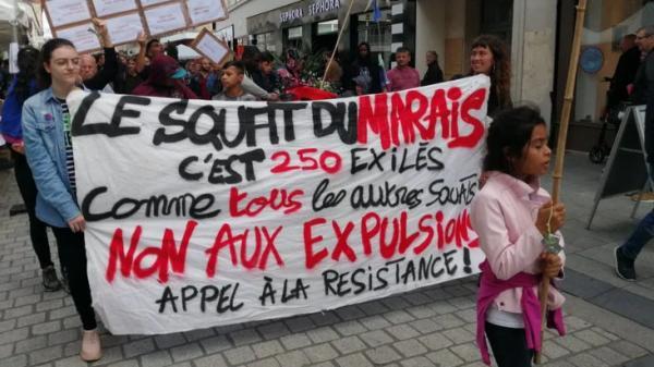 """Caen: l'évacuation du squat de la rue du Marais est terminée, 64occupants sont """"pris en charge"""""""