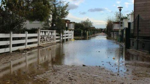 Aude : 150 personnes évacuées d'un camping à Sigean en prévention de la houle marine