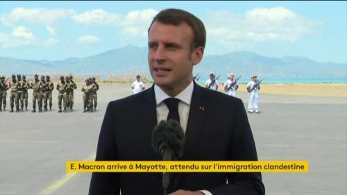 DIRECT. Suivez le déplacement d'Emmanuel Macron à Mayotte