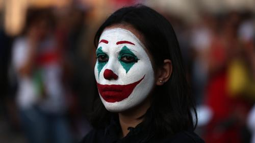 EN IMAGES. Liban, Hong Kong, Etats-Unis… Quand le masque du Joker surgit dans les manifestations