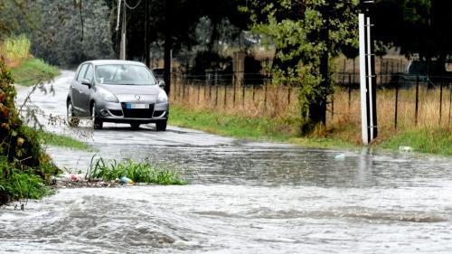 """VIDEO. """"Le plafond s'est soulevé"""" : dans les Pyrénées-Orientales, une longue nuit de pluies diluviennes"""