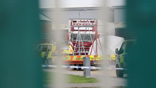 Royaume-Uni : 39 corps retrouvés sans vie dans un camion