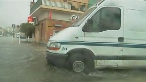 VIDEO. Intempéries : le sud de la France sous les eaux