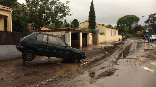 VIDEOS. Rues inondées, arbres arrachés... Quels sont les dégâts causés par la pluie d'Argelès à Béziers?