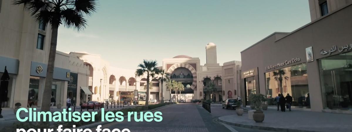 VIDEO. Au Qatar, ils climatisent les rues pour lutter contre la chaleur